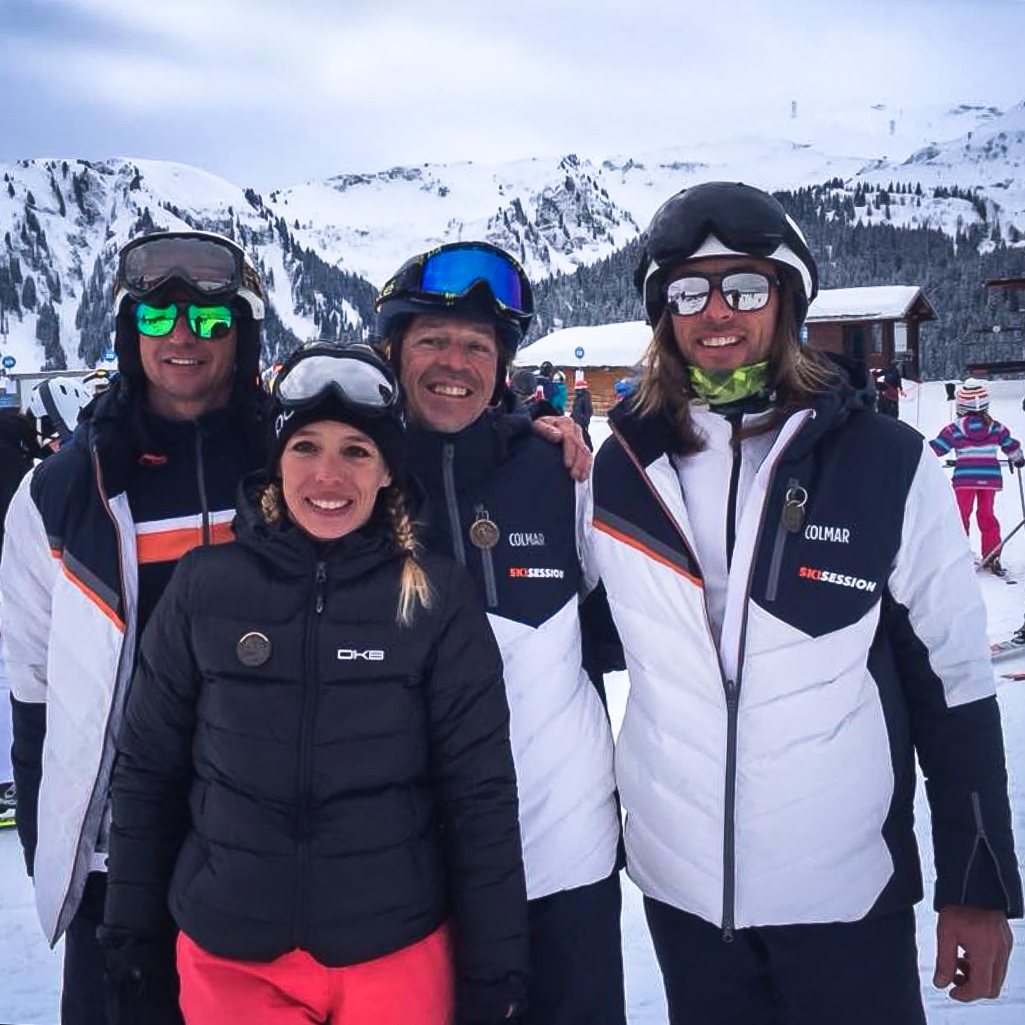 ecole de ski samoens skisession team